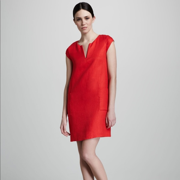 fe91e307710 kate spade Dresses   Skirts - Kate Spade Teri Linen Shift Dress Red